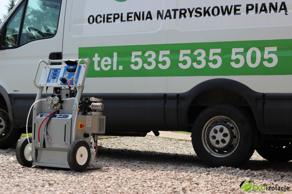 W superbly Nowa maszyna w firmie EKOizolacje - EKOizolacje VF71