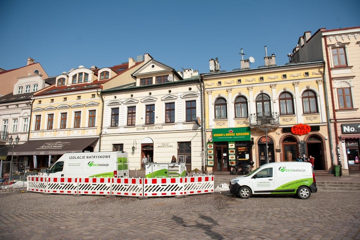 EKOizolacje - Prace przy Podziemnej Trasie Turystycznej w Rzeszowie