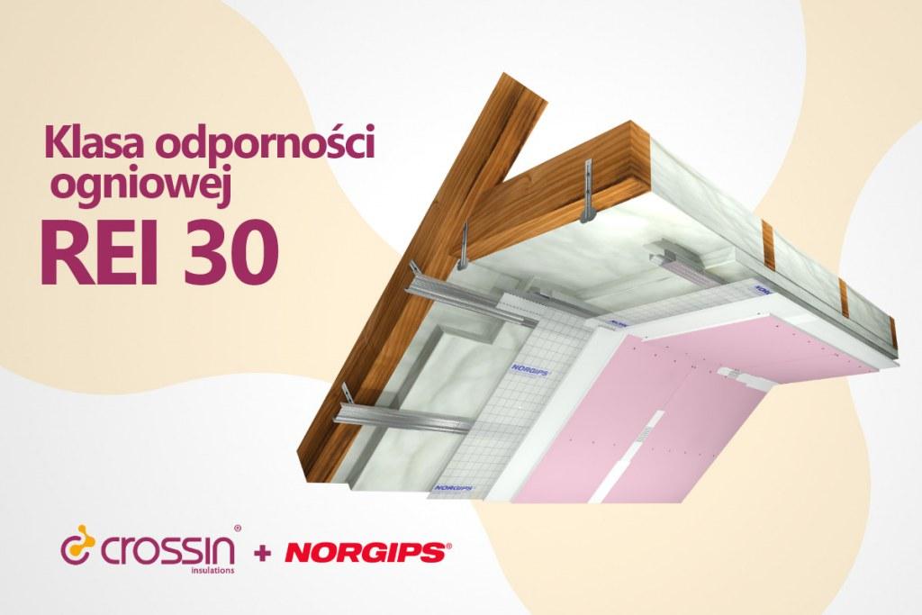Ognioodporność Crossin i Norgips REI 30
